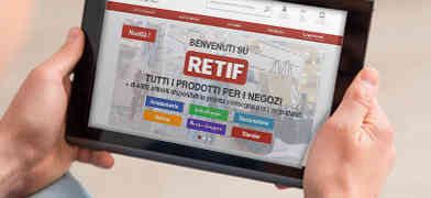 Arriva RETIF.IT: lo shop online di accessori e arredi per negozi