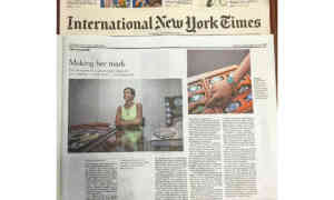 GIORGIA MONDANI INTERVIEW ON THE NEW YORK TIMES