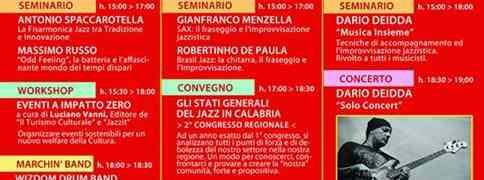 Andrea Infusino Quartet allo Showcase del Calabria Jazz Meeting