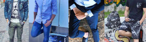 "8 outfit da uomo e 3 ""moment for look"" raccontati da 4 fashion blogger"