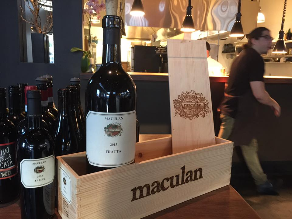 Maculan fratta vola in america con la cru night for Maculan arredamenti
