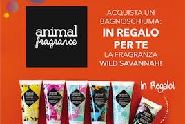 Incredibile promo solo da Pinalli: 2x1 docciaschiuma Animal Fragrance!