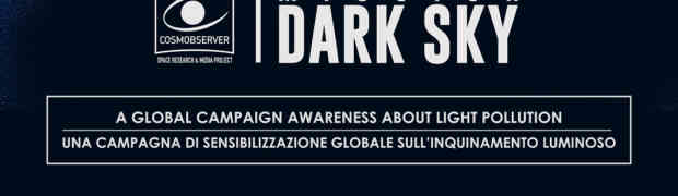 Inquinamento luminoso: Claudia Lattuada firma il logo di MISSION DARK SKY