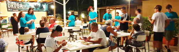 Il Camping Village Saint Michael di Tirrenia dice no alla droga