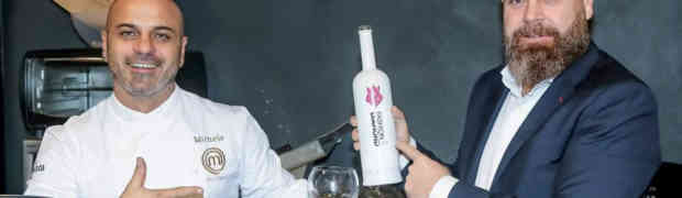 Michele Cannistraro chef executive del tour Fashion Diamond Luxury Vodka
