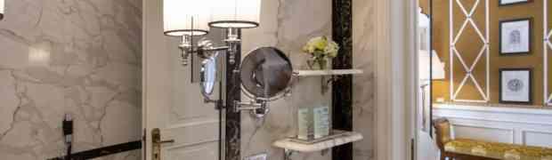 Rubinetterie Stella nei bagni dell'Helvetia & Bristol Hotel di Firenze