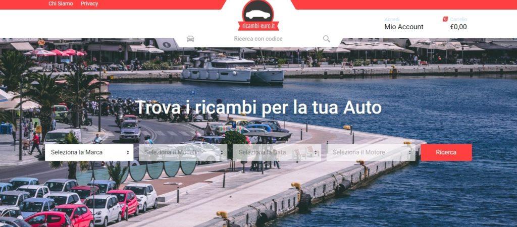 pezzi ricambio auto online, ricambi-euro.it