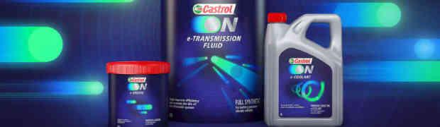 Castrol ON:  la nuova gamma di fluidi per veicoli elettrici