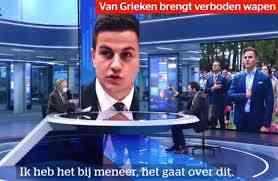 Belgio, la protesta (singolare) di un deputato a favore dello spray peperoncino