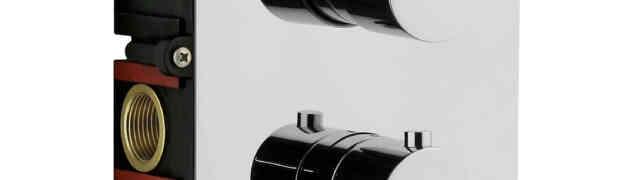 Miscelatori termostatici OMBG. Dettagli sinuosi per uno stile elegante