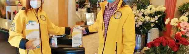 Prevenzione dal contagio con i Ministri Volontari di Scientology