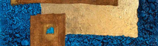 La sintesi materica subliminale della pittura di Roberto Re