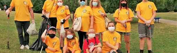 Ministri Volontari di Scientology promuovono il senso civico al parco Castelli