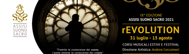 Assisi Suono Sacro 2021 - rEVOLUTION