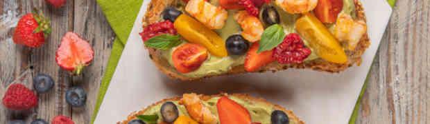 Un piatto australiano e americano ma amato in Italia, l'avocado toast di Sonia Peronaci