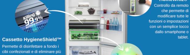 Beko presenta il nuovo frigorifero della gamma HygieneShield™