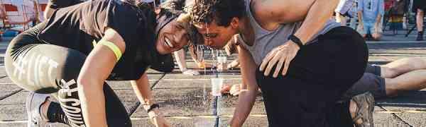 GIOCHI SENZA QUARTIERE. Giochi, spettacolo ed improbabili discipline sportive