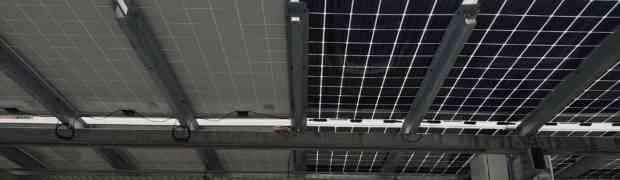 Pensiline fotovoltaiche innovative: il progetto GeVERI