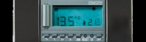 FAN503-S  di IMIT Control System. Risparmio energetico pratico e funzionale