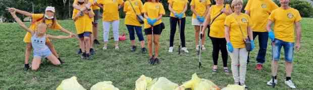 Il parco Castelli visitato dai volontari di Scientology