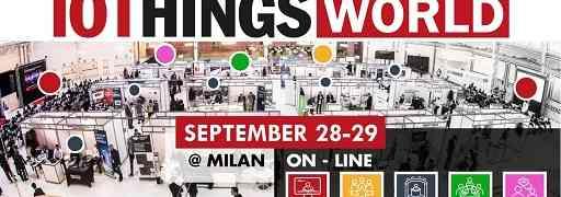In arrivo al Mediolanum Forum di Assago IoTHINGS World 2021