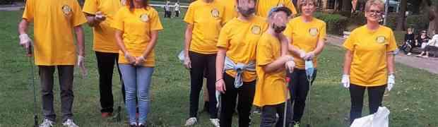 Intervento al Parco Falcone Borsellino dei Volontari di Scientology